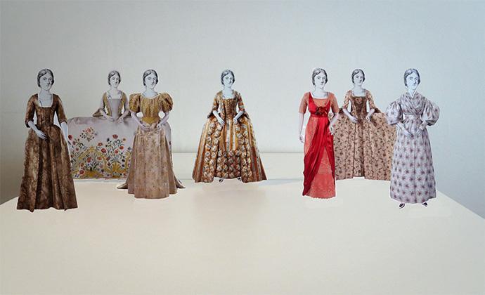 papieren poppen rijksmuseum catwalk