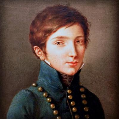 Napoleon Louis, koning Lodewijk II van Holland. [Publiek domein]. Bewerking en digitale restauratie: My inner Victorian.