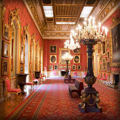 De Waterloo Gallery in Apsley House. © English Heritage Photo Library.