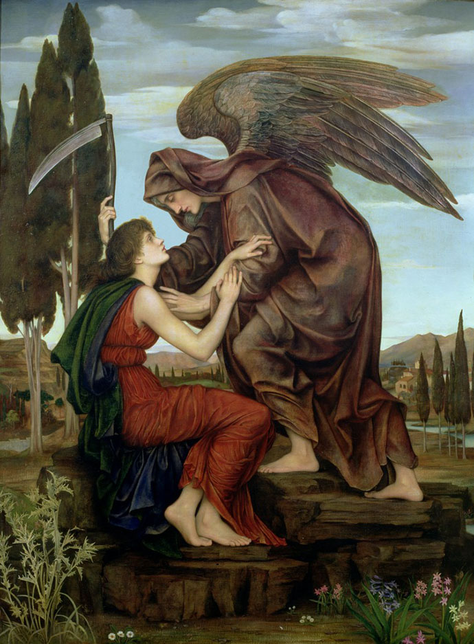 The Angel of Death Evelyn de Morgan