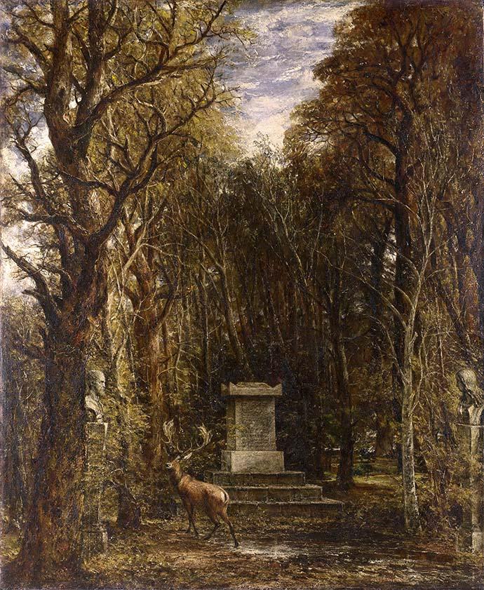 john constable - cenotaph