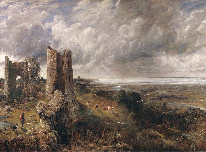 john constable - hadleigh castle
