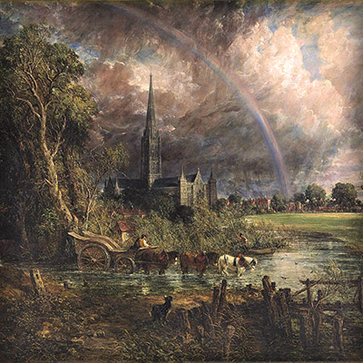 john constable salisbury meadows
