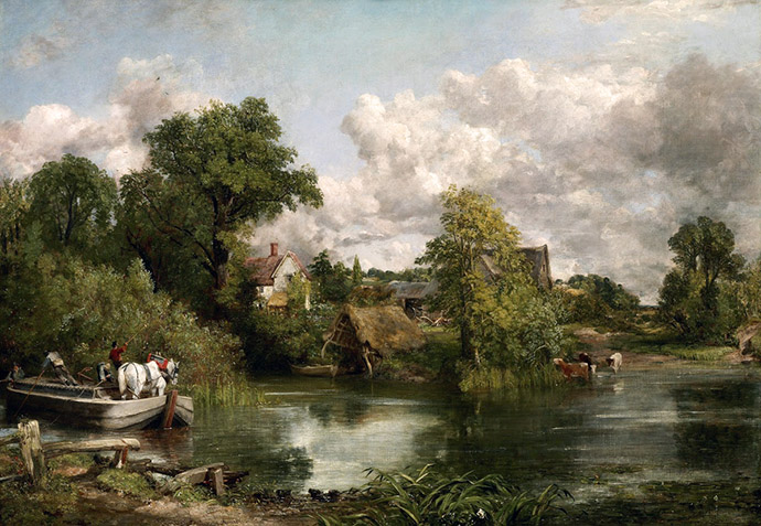 john constable - the white horse 1819