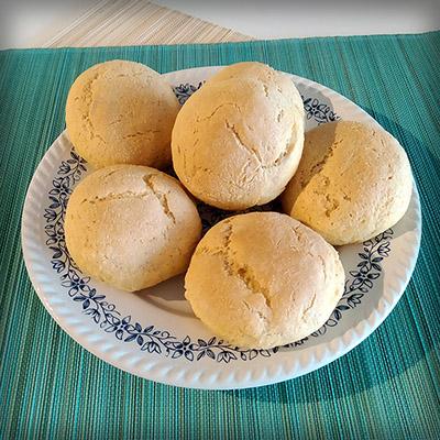Zelfgemaakte maïsbroodjes naar Victoriaans recept