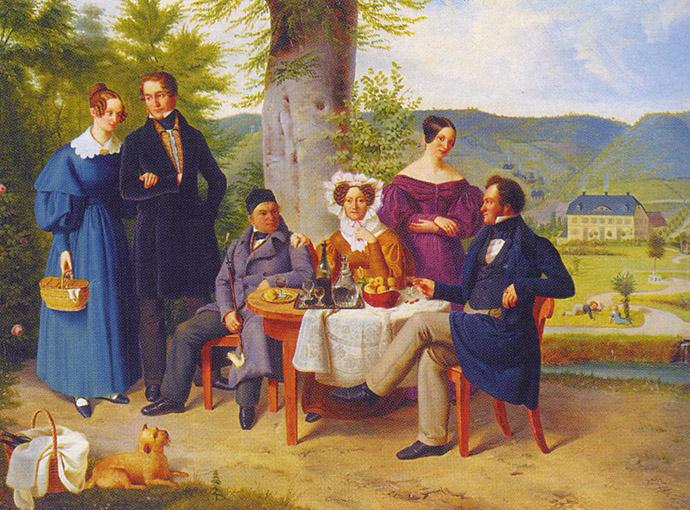 C. A. Farina bij Hagerhof 1837