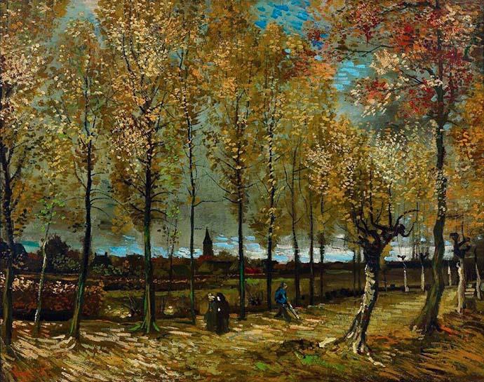 Herfst Vincent van Gogh