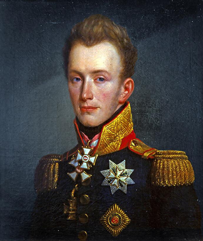 verdiend heeft. Werk door een onbekende schilder, rond 1815 [Publiek domein].