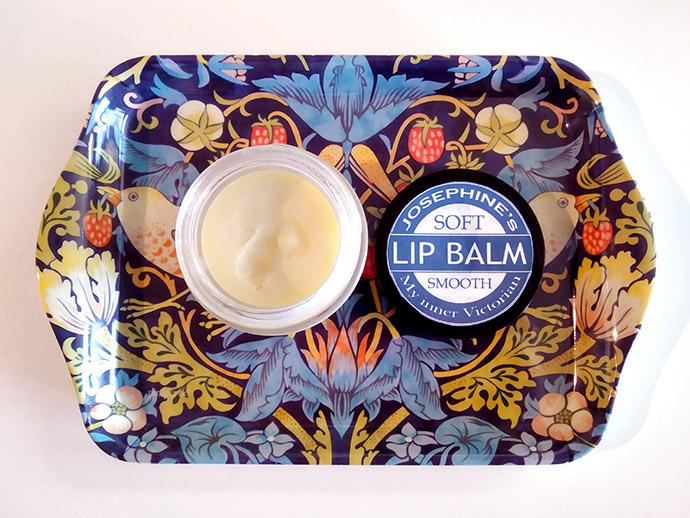 Victoriaanse lippenbalsem volgens authentiek recept.