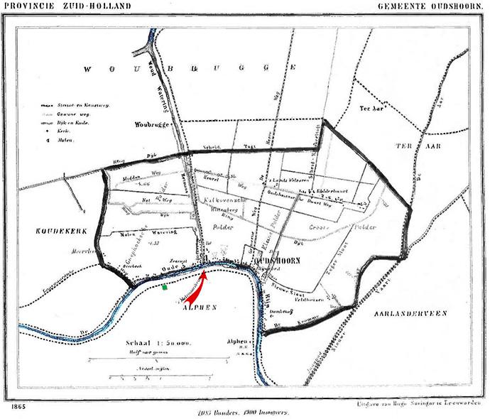 gemeente Oudshoorn 19e eeuw