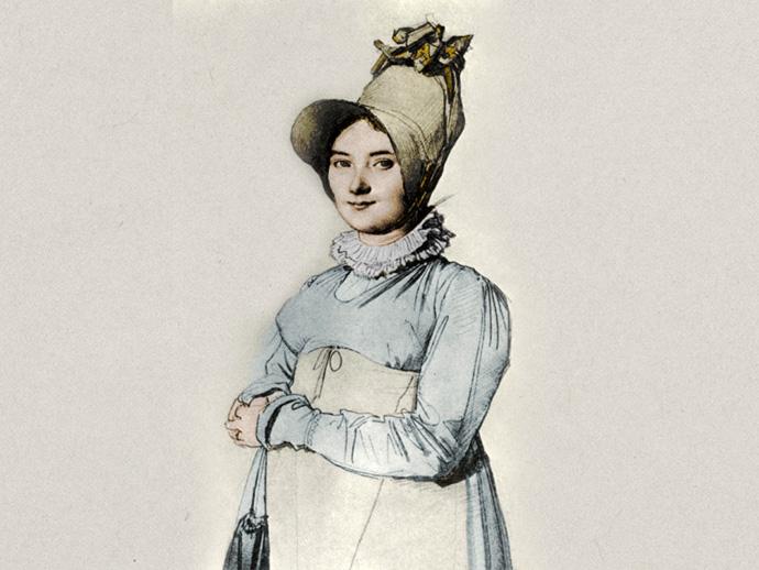 zwangere vrouw 1814 regency