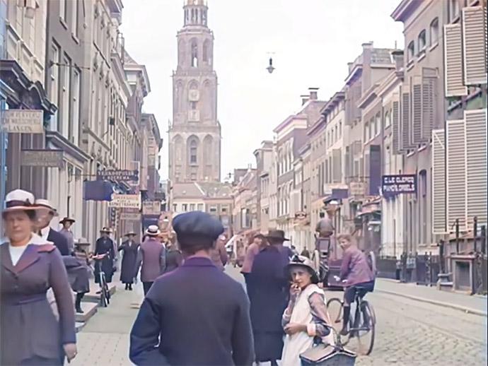 Groningen in 1919 Film
