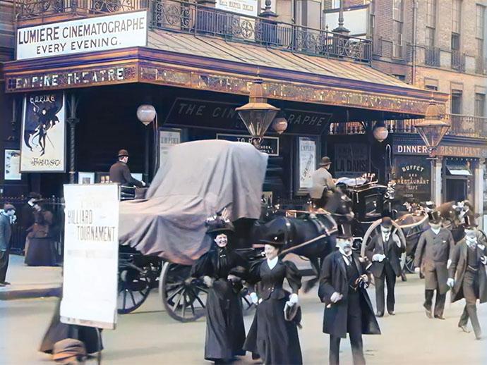 Film Londen rond 1900