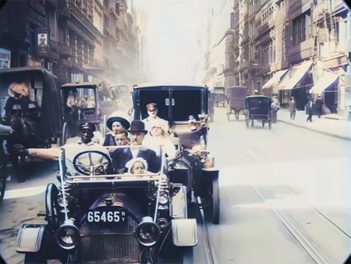 New York City 1911 Film