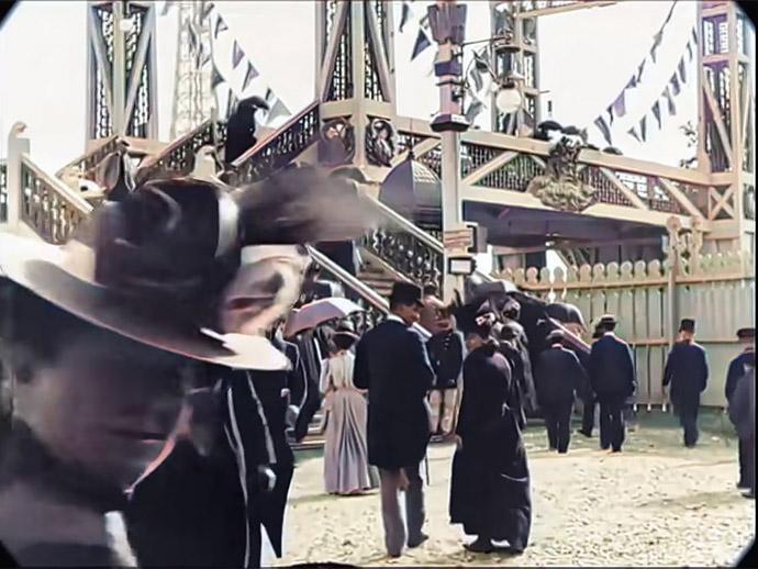 Film Parijs 1890