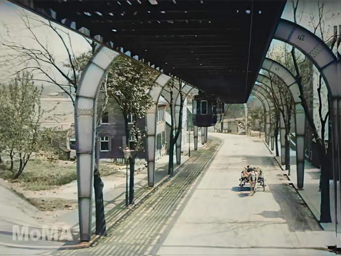 Zweeftrein Wuppertal 1902